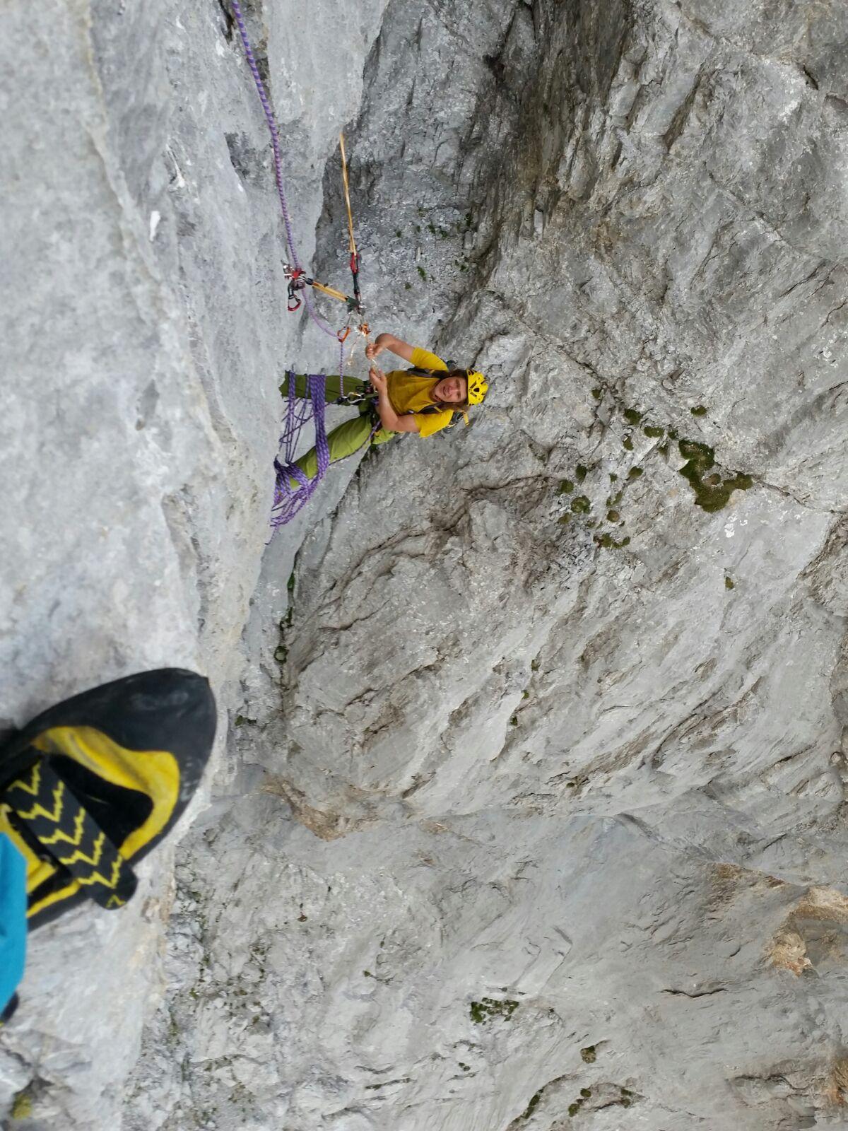 Sulzfluh Kathedrale – Kletterverein Seilbruch